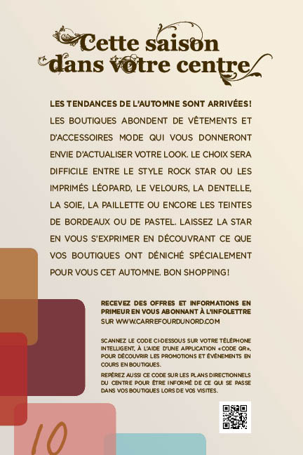 Guide Shopping Automne 2012 - Carrefour du Nord