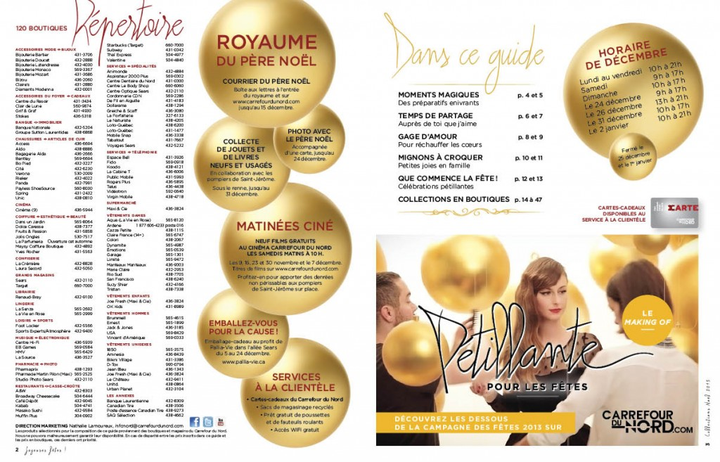 Guide Shopping Noël 2013 - Carrefour du Nord